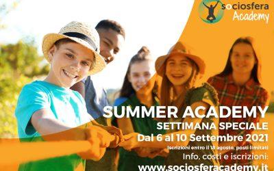 Sociosfera Academy: speciale Settembre